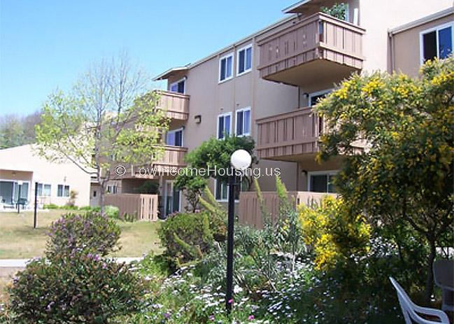 Casanova Plaza Public Housing Apartments Monterey Seniors 800 Casanova Av