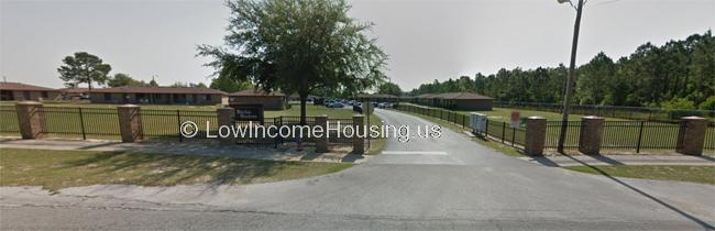 Classic row houses within gated wrought iron fencing and on spacious lots.