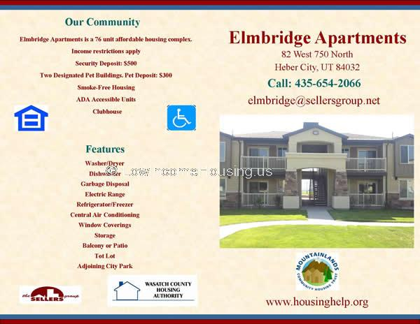 Low Income Apartments In Heber City Utah