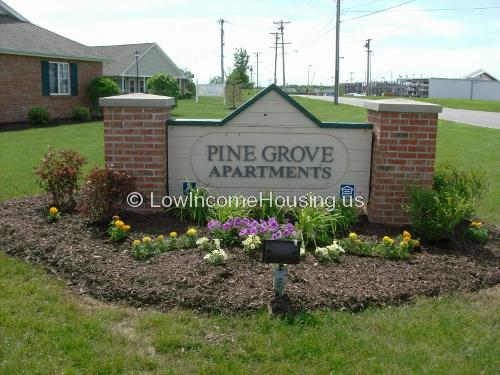 Pine Grove Apartments 10 Pinecrest Cir Bluffton In