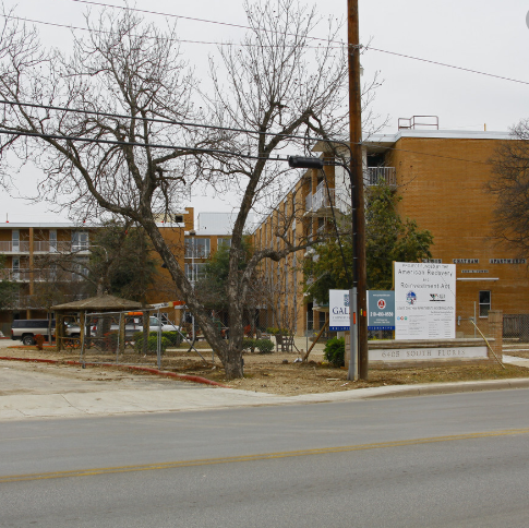 Lewis Chatham San Antonio Housing Authority Public Housing Apartment