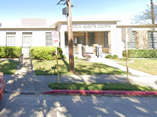 Lincoln Heights San Antonio Housing Authority Public Housing Apartment