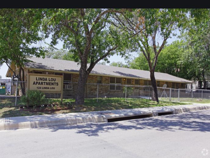 Linda Lou San Antonio Housing Authority Public Housing Apartment
