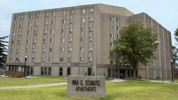 Schnute Apartments Evansville Low Rent Public Housing