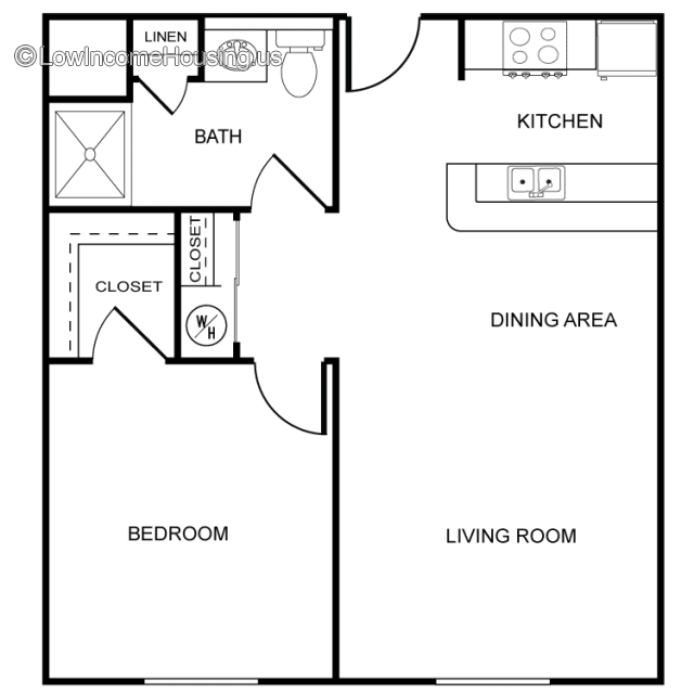 2 Bedroom Apartments Low Income: Wright Place Senior Apartments