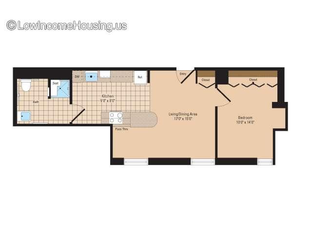 tullio towers senior apartments | 21 w ninth st , erie, pa 16501