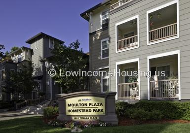 Homestead Park / Moulton Plaza