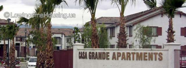 Casa Grande Apartments Coachella