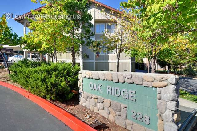 Oak Ridge Apartments Grass Valley