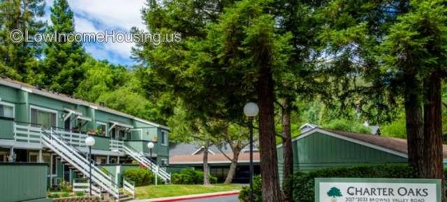 Charter Oaks Apartments Napa