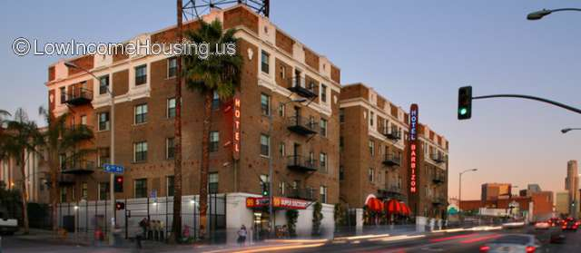 Barbizon Hotel Apartments Los Angeles
