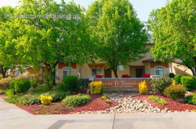 Santa Fe Townhomes Stockton