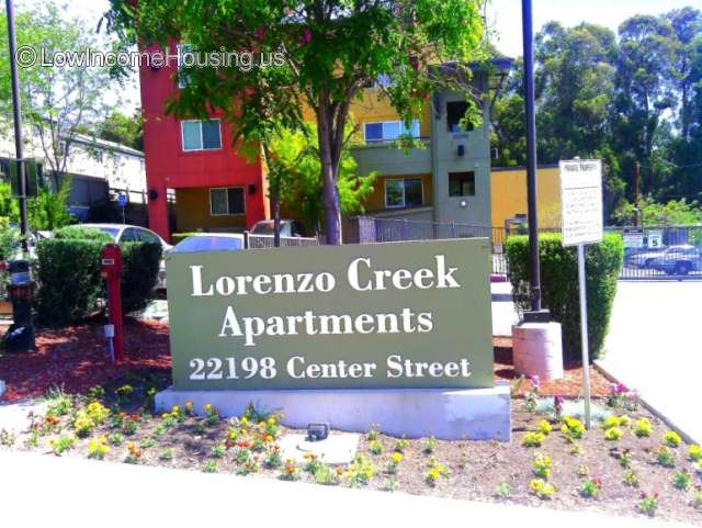 Lorenzo Creek Apartments Castro Valley