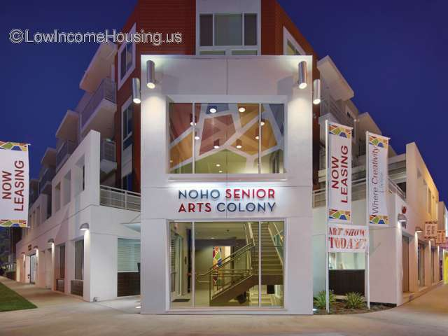 Noho Senior Artists Colony N Hollywood