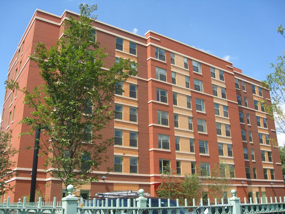 Near West Side Neighborhood Chicago Illinois Low Income Housing