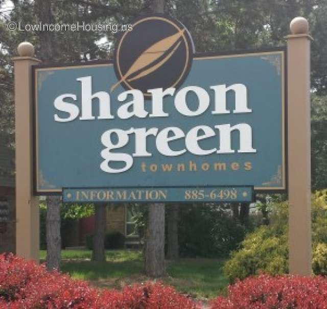 Cheap Apartments In Columbus Ohio: Sharon Green Townhomes Columbus