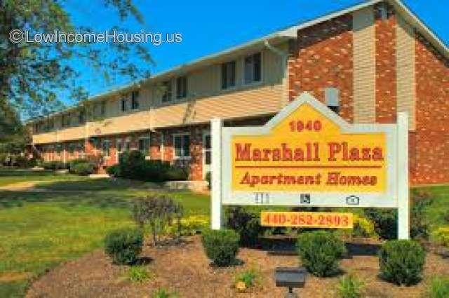 Marshall Plaza Apartments Lorain
