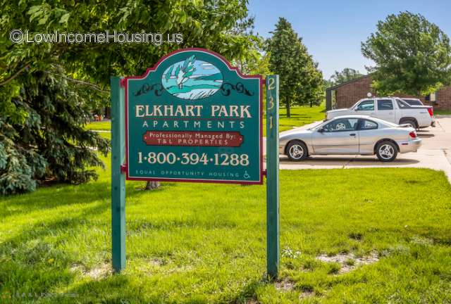 Elkhart Park Center Apartments for Seniors