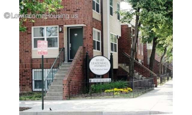 Sharp Leadenahll Apartments