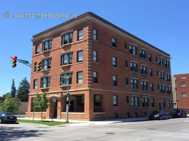 Historic Rushton Apartments