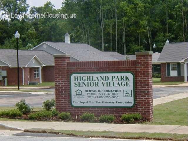 Highland Park Senior Village Apartments