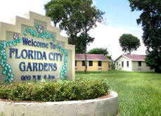 Florida City Gardens - Miami Public Housing Apartment