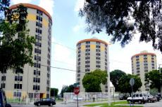 Three Round Towers - Miami Public Housing Apartment