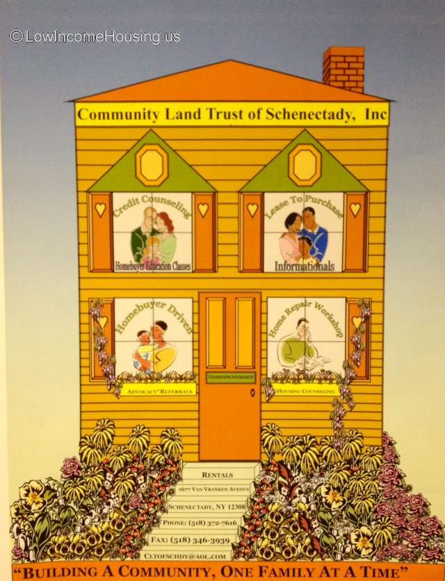 Community Land Trust Of Schenectady Inc