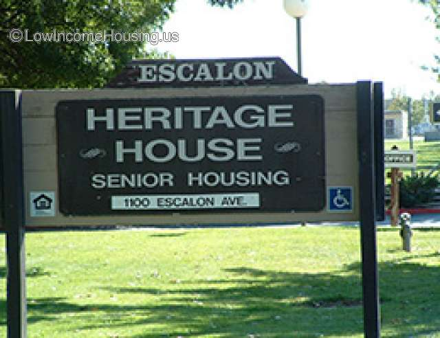 Escalon Heritage House for Seniors