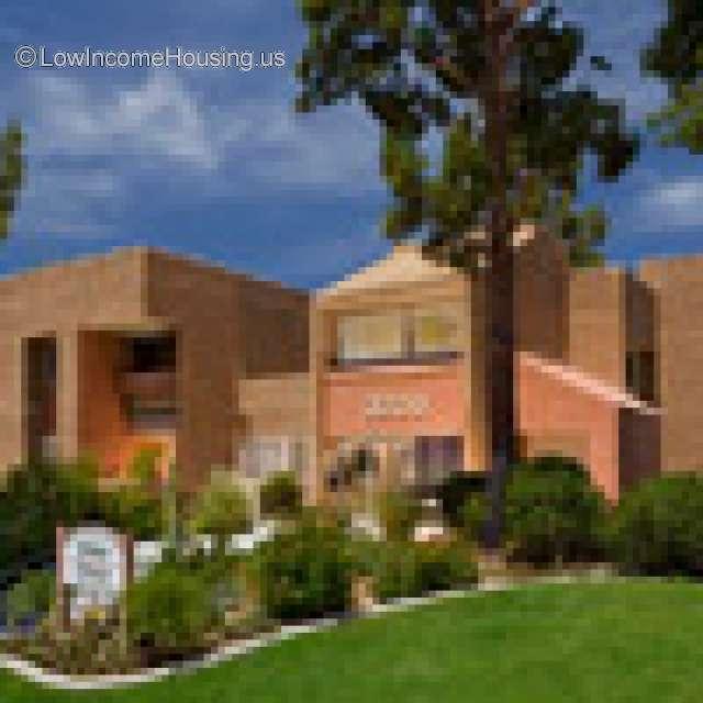 Senior Citizen Apartments: Palms Springs Senior Citizen Complex