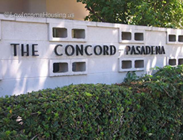 Concord Pasadena for Seniors