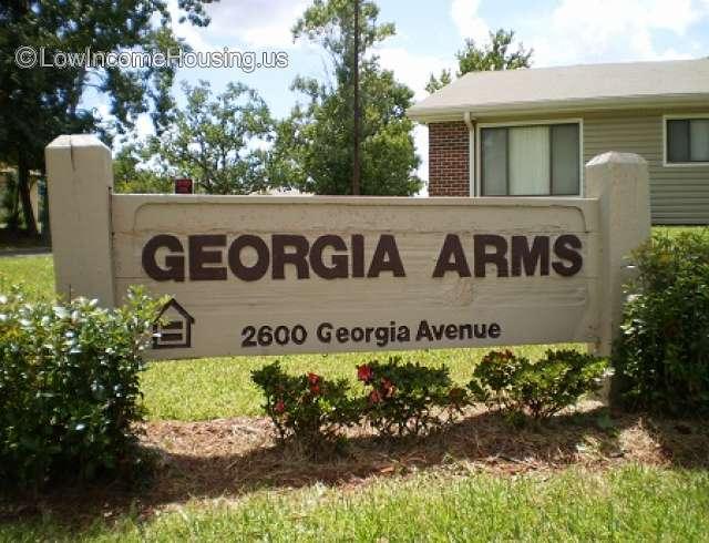 Georgia Arms - Low income housing, 2600 Georgia Avenue