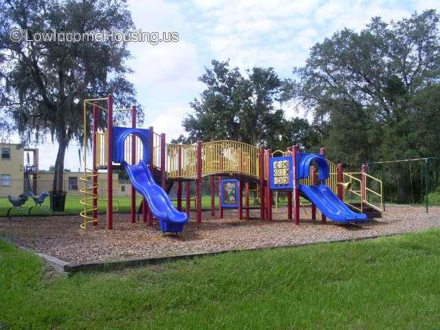 Children play area, slides, bridges, jungle jims
