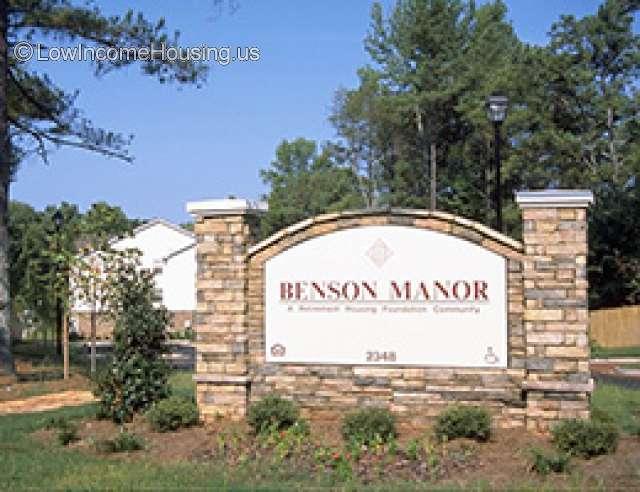 Benson Manor for Seniors