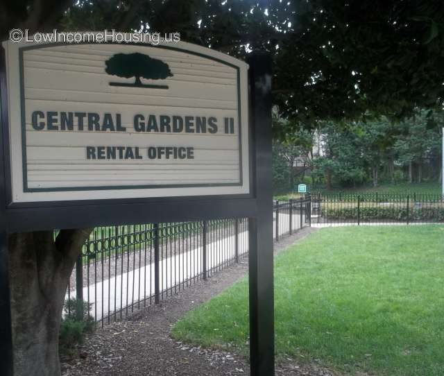 Low Income Apartments Available: Central Gardens II Apartments