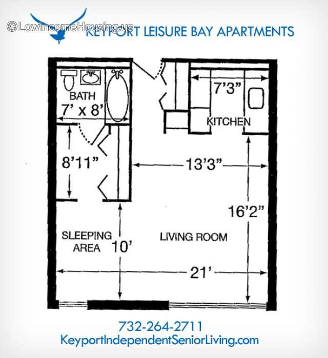 Senior Citizen Apartments: Keyport Leisure Bay Apartments Dba Keyport Legion Senior