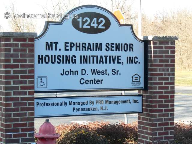 Mount Ephraim Senior Citizens Housing