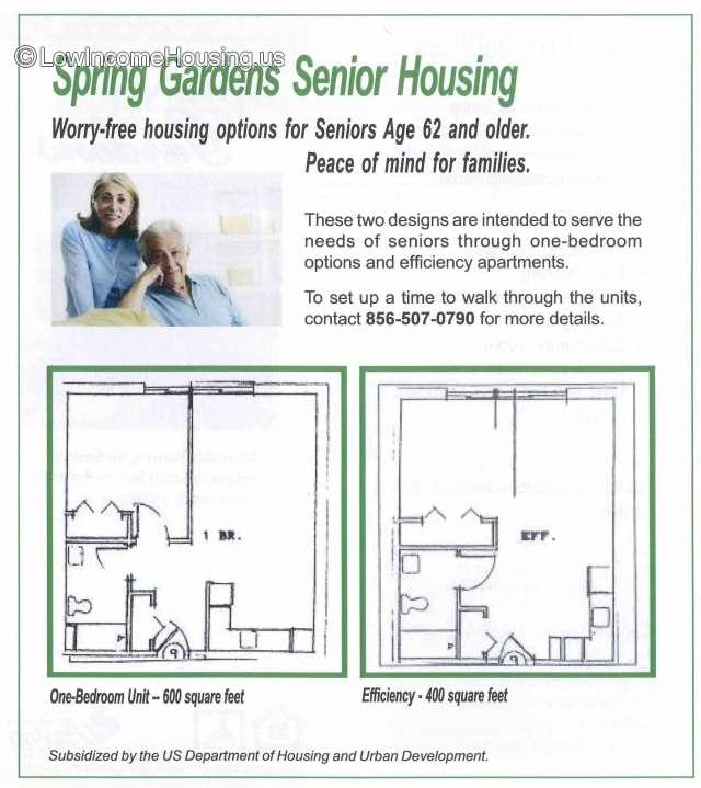 Apartments For Rent In Vineland Nj: Spring Garden Senior Housing