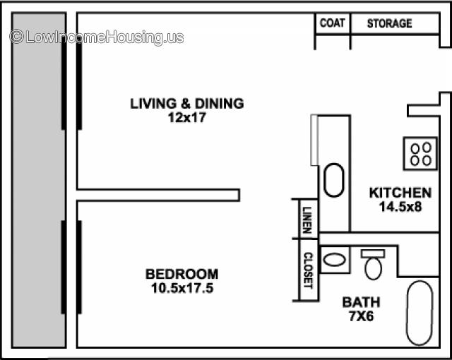 Dunn Towers II Senior Apartments