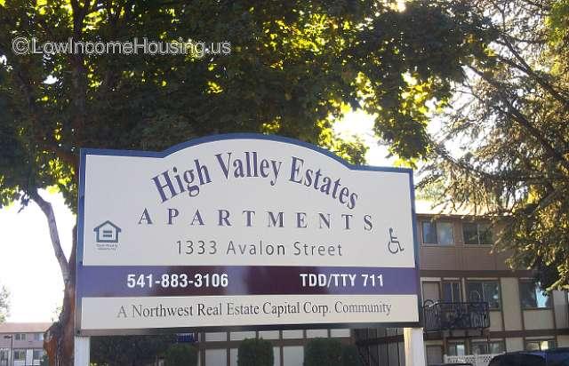 High Valley Estates