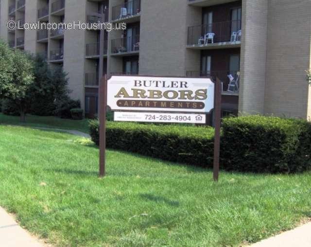 Butler Arbors Senior Apartments 200 Lincoln Ave Butler