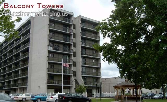 Balcony Towers Senior Apartments