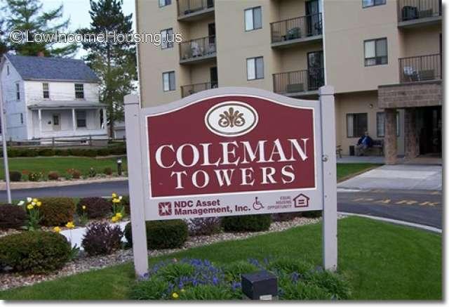 Coleman Towers Senior Apartments