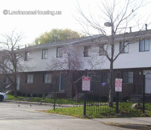 Low Income Apartments Listing: Diggs Forest Park Place Detroit Public Housing