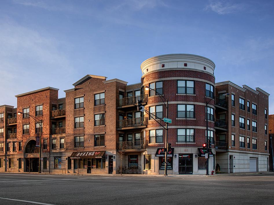 Near West Side Neighborhood, Chicago, Illinois Low Income