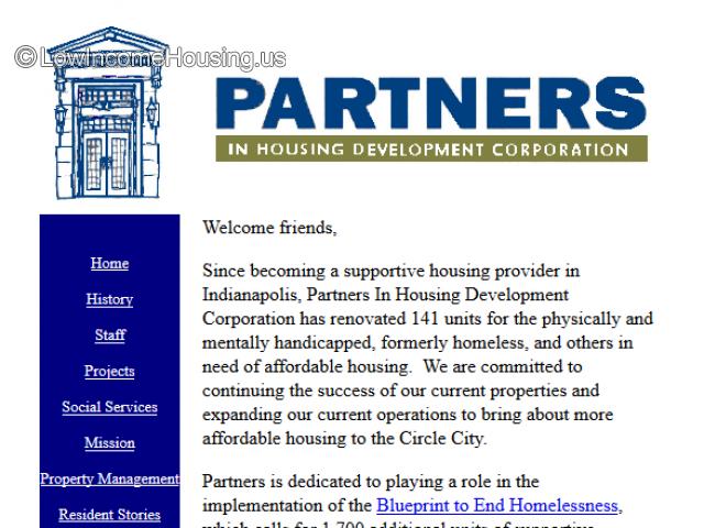 Partners In Housing Development Corp.